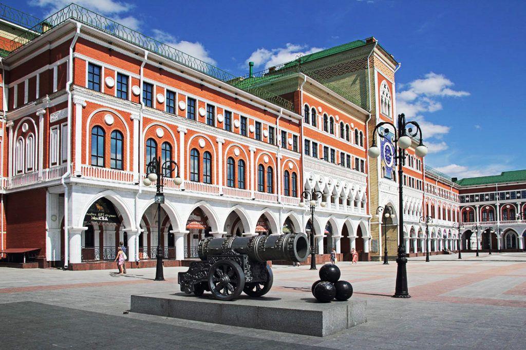 Площадь Ноготкова-Оболенского в Йошкар-Оле