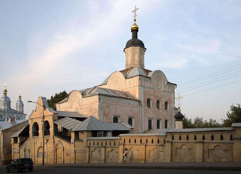 Свято-троицкий монастырь в Смоленске