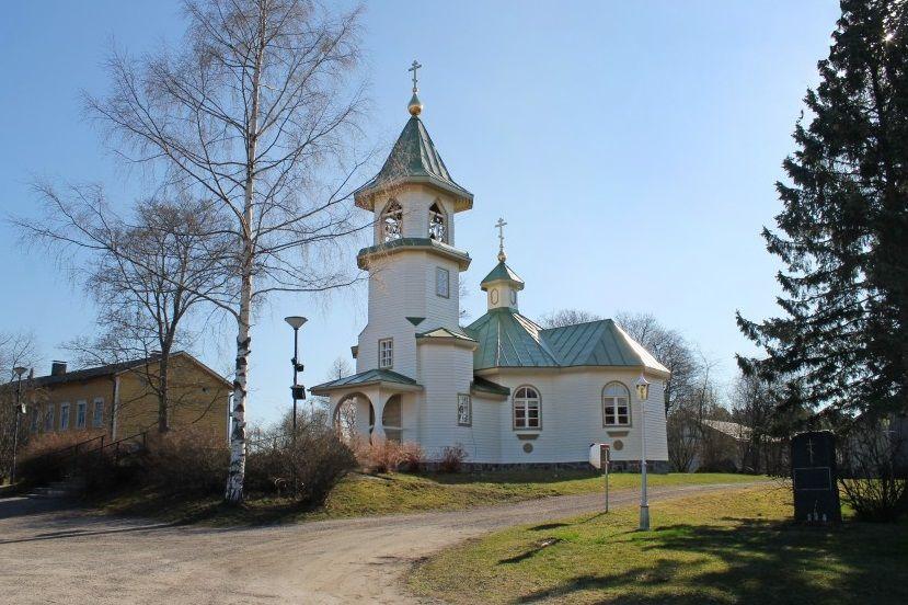 Православная церковь Святого Николая Чудотворца в Иматре