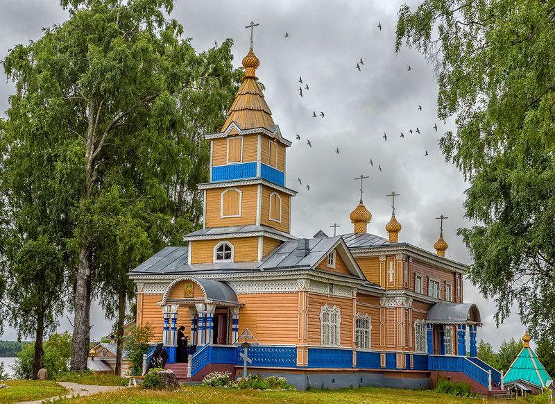 Важеозерский мужской монастырь, Олонец