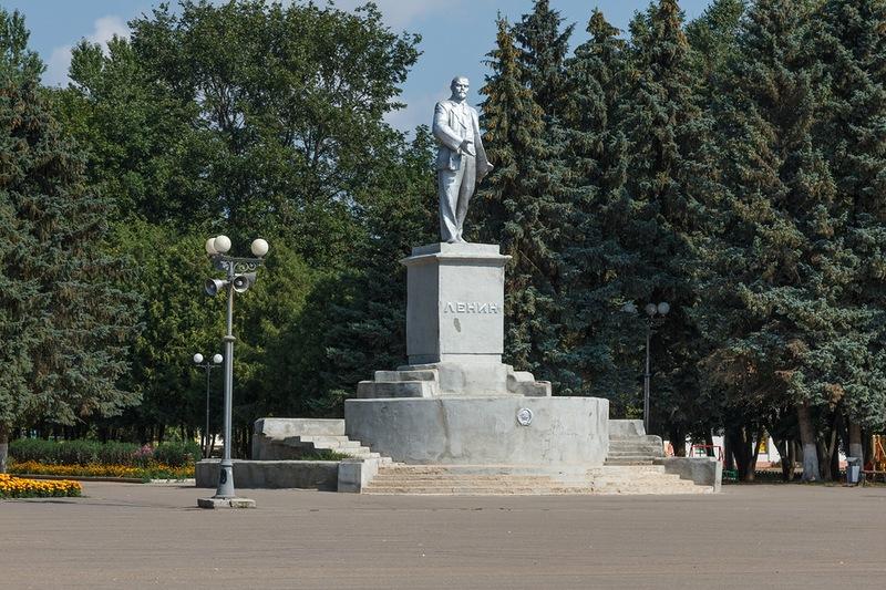 Советская площаль во Ржеве