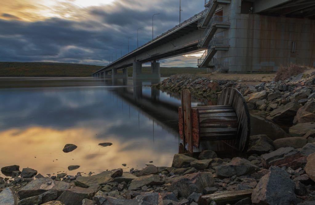 Кольский мост в Мурманске