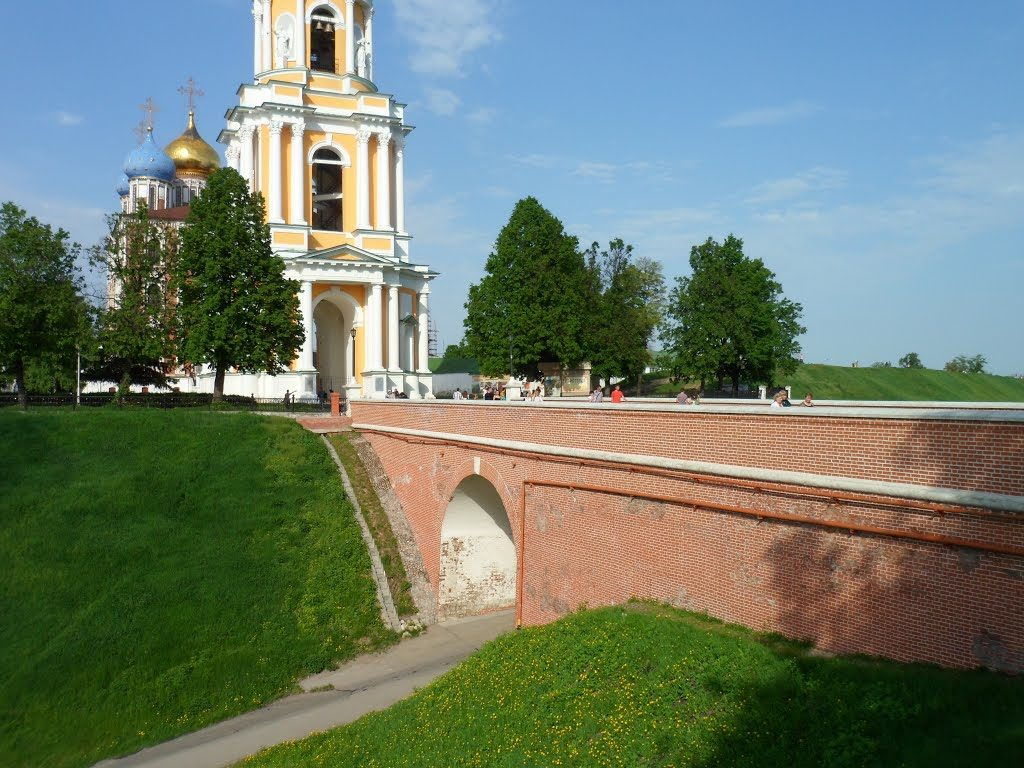 Глебовский мост в Рязани