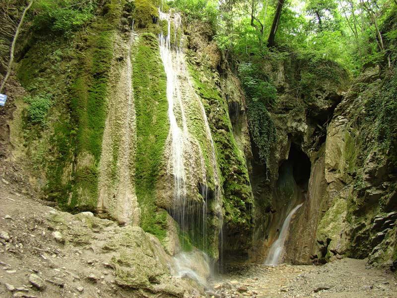 Водопад в Туапсинском районе рядом с Ольгинкой
