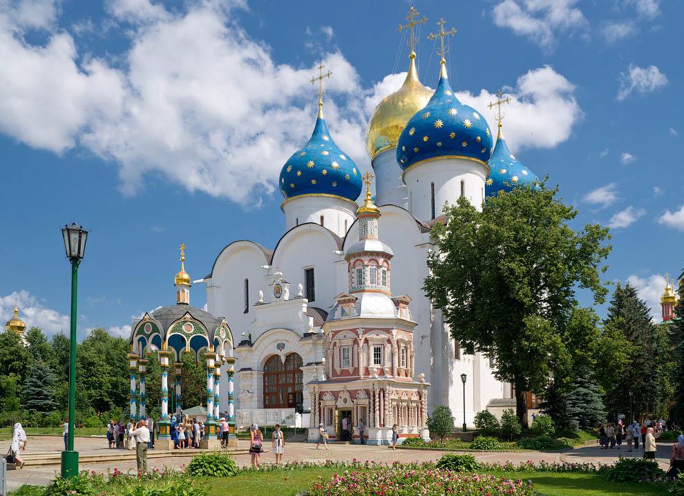Успенский Собор Сергиевой Лавры