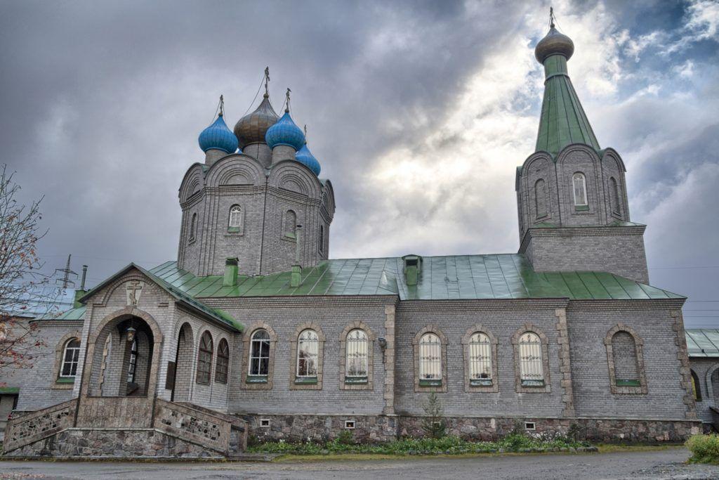Свято-Никольский кафедральный собор в Мурманске