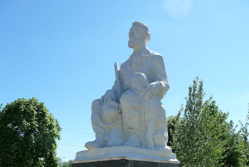 Памятник Ивану Тургеневу в Орле
