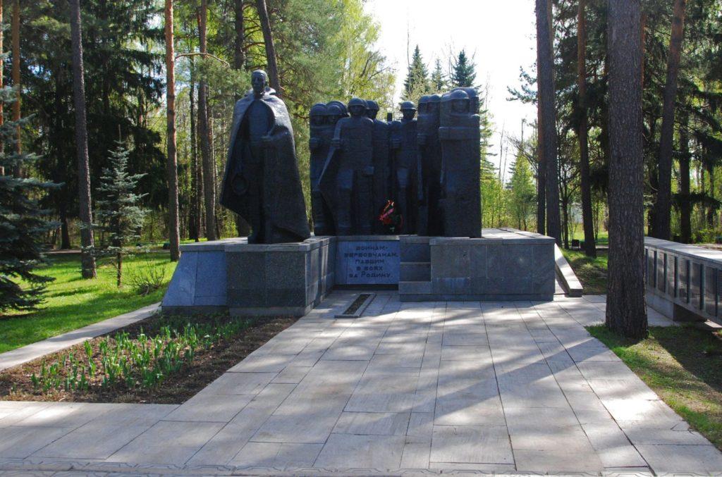 Памятник воинам-вербовчанам в Муроме