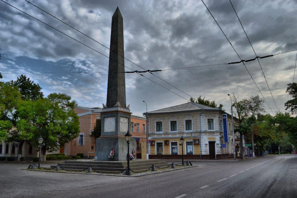 Памятник Долгорукову в Симферополе