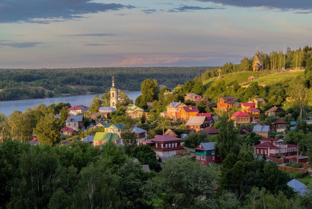 Город Плес в Ивновской области