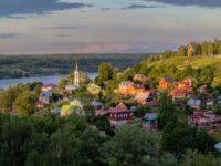 Плёс – очарование маленького старинного городка