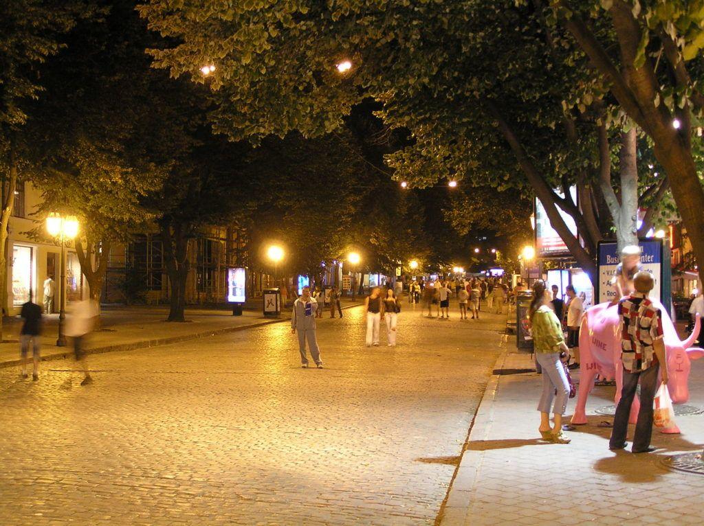 Улица Дерибасовская, г. Одесса