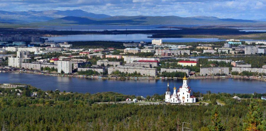 Мончегорск – северная сказка полярный ночей