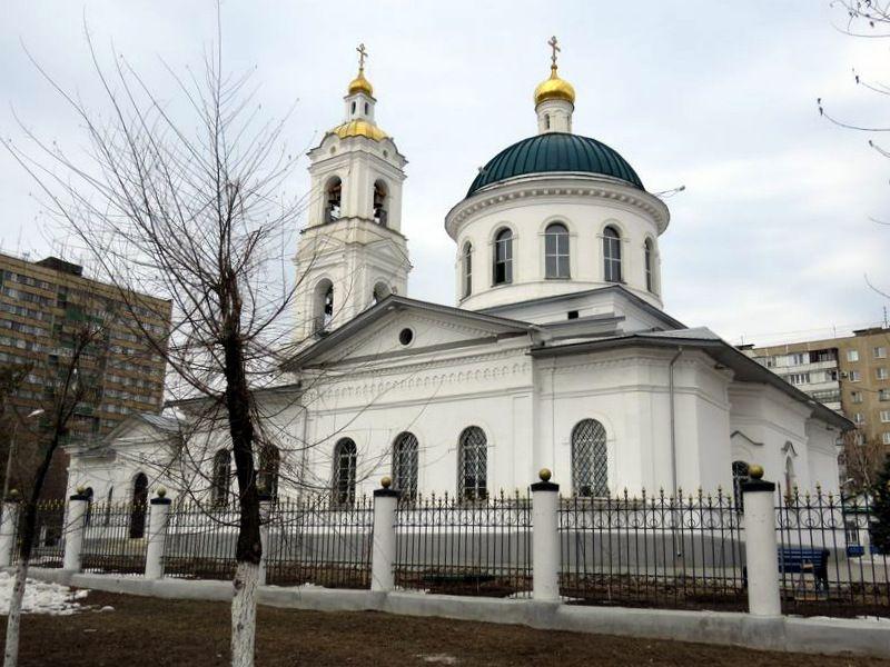 Кафедральный собор Николая Чудовторца в Оренбурге