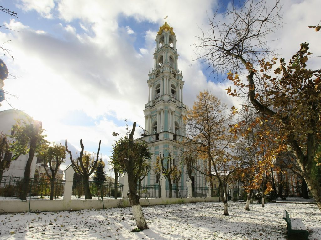 Самая высокая колокольня в России, Сергиев Посад