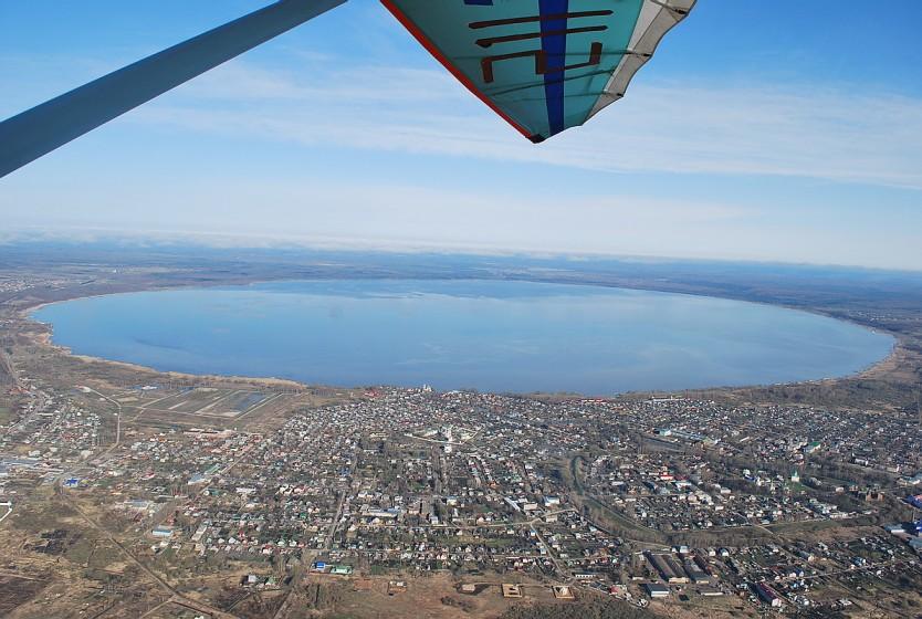 Плещеево озеро с высоты