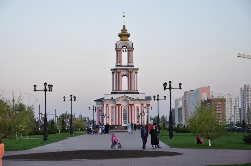 Трехярусный собор Св. Георгия в Курске