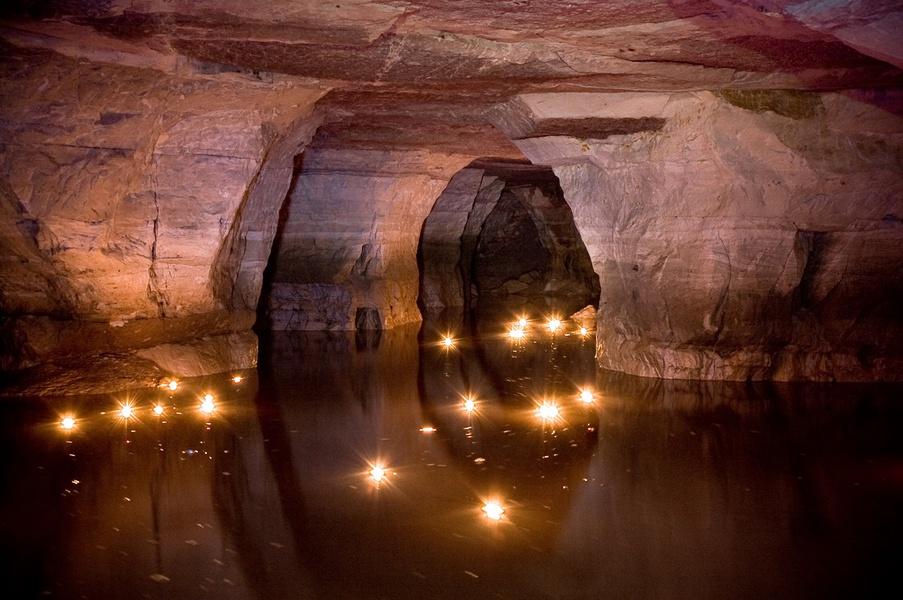 Танечкина пещера близ Старой Ладоги