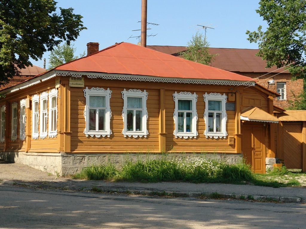 Музей литератора И.А.Бунина, г. Елец