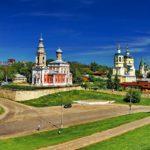 Город Серпухов в России