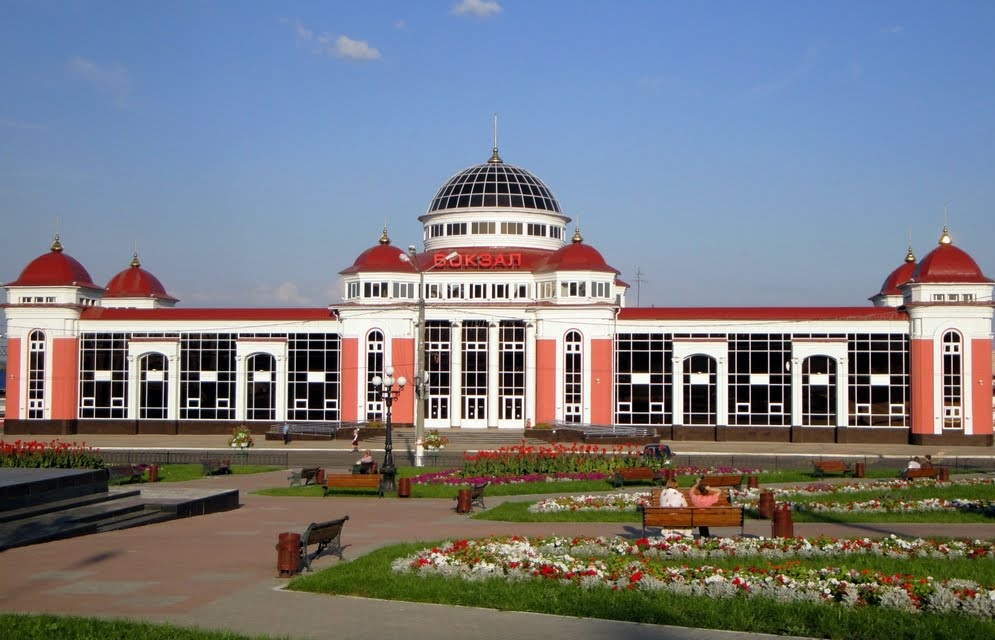 Ж/д вокзал Саранска