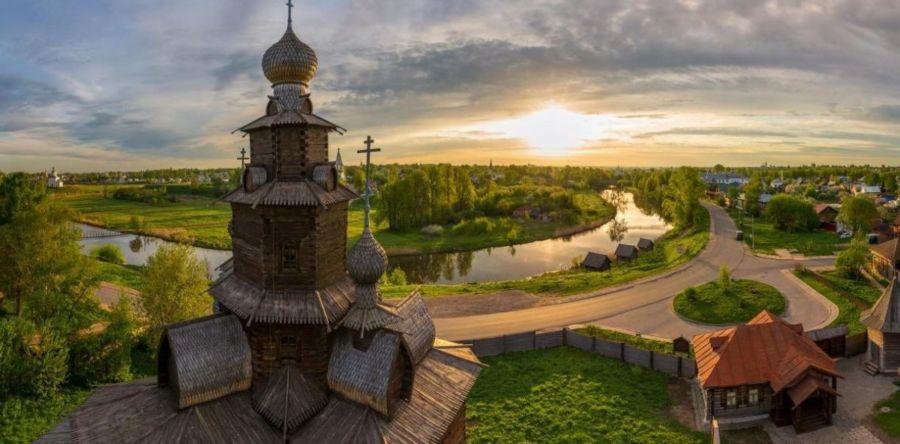 Заповедный Суздаль – город, дышащий историей