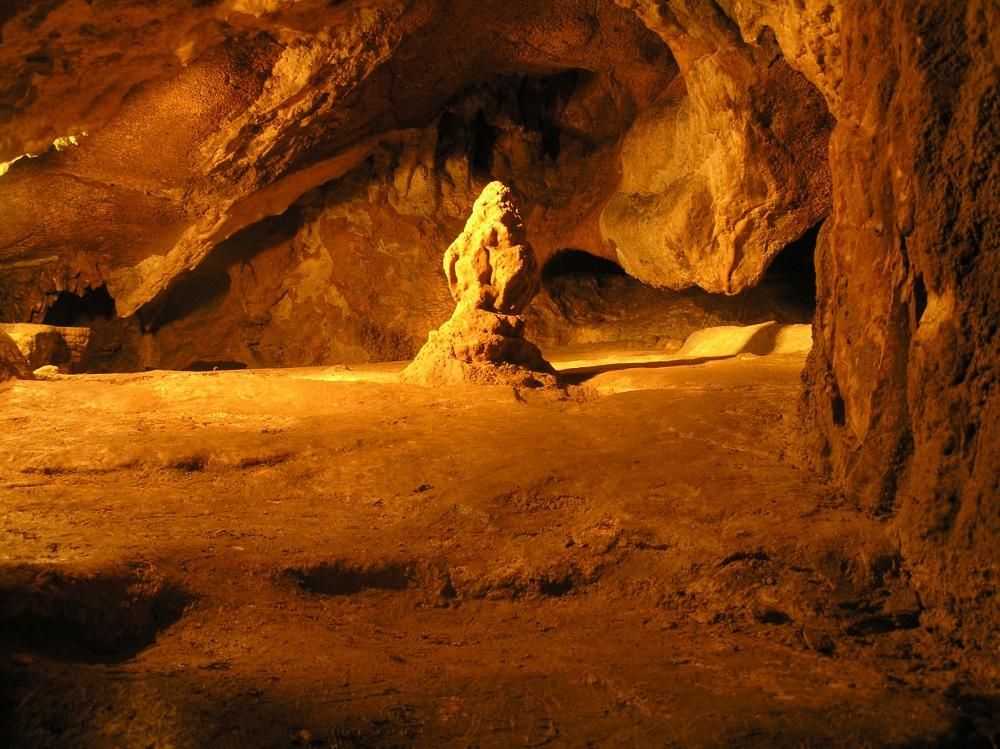 Красная пещера в Симферополе