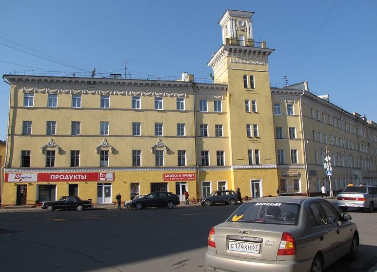 Бывшая городская дума в Смоленске