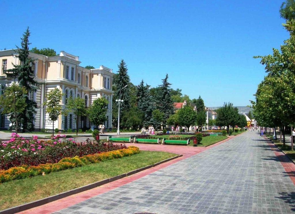 Город Ставрополь на Северном Кавказе