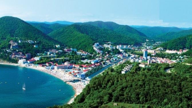 Приморский поселок Ольгинка – незамысловатый, но очень приятный отдых для всей семьи