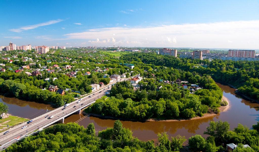 Город Подольск в Московской области