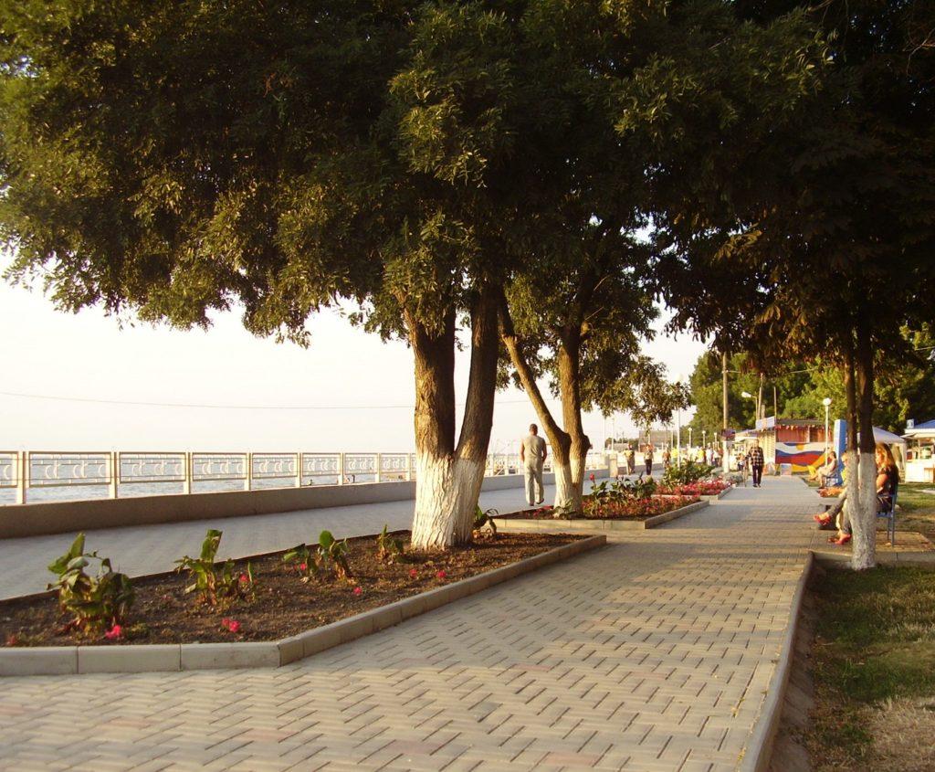 Город Приморско-Ахтарск в Краснодарском крае