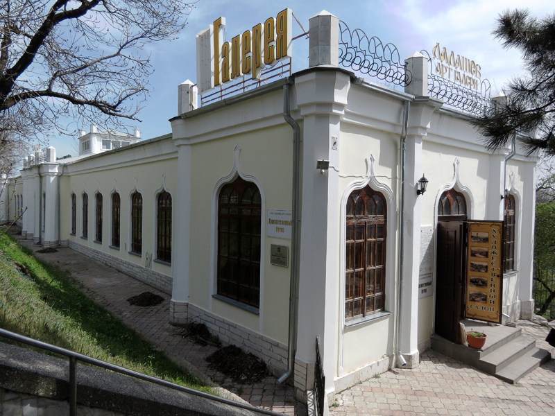 Михайловская галерея в Пятигорске