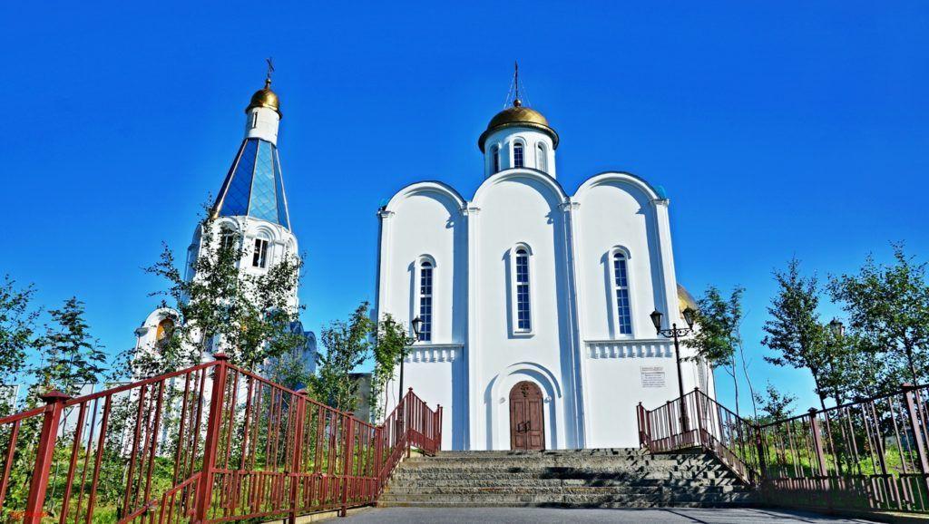 Морской православный храм в Мурманске