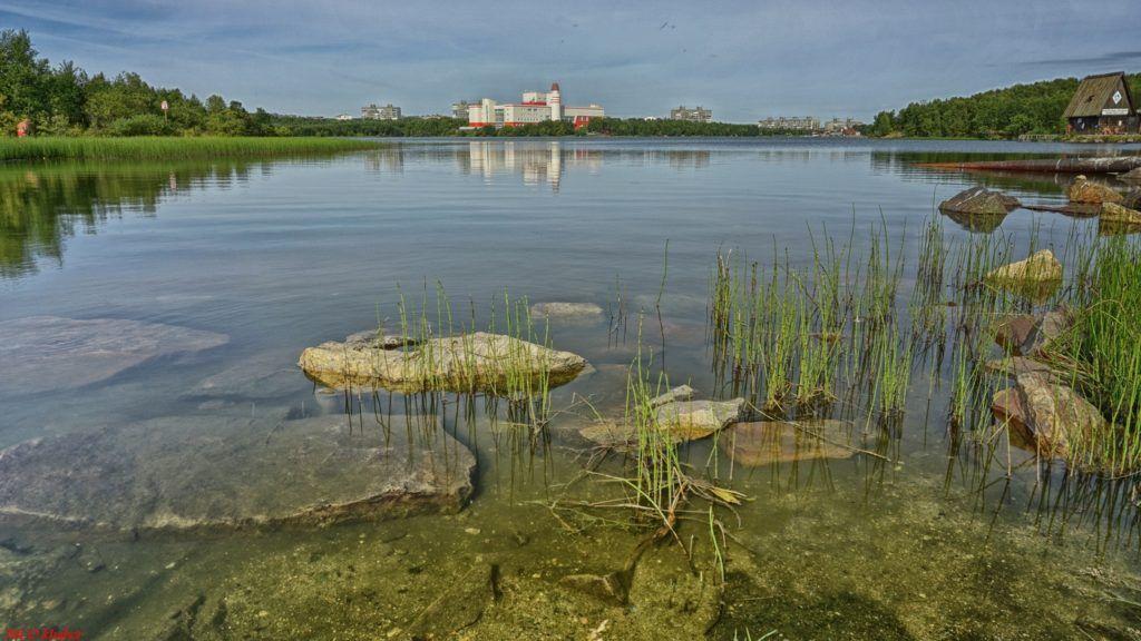 Семеновское озеро в Мурманске