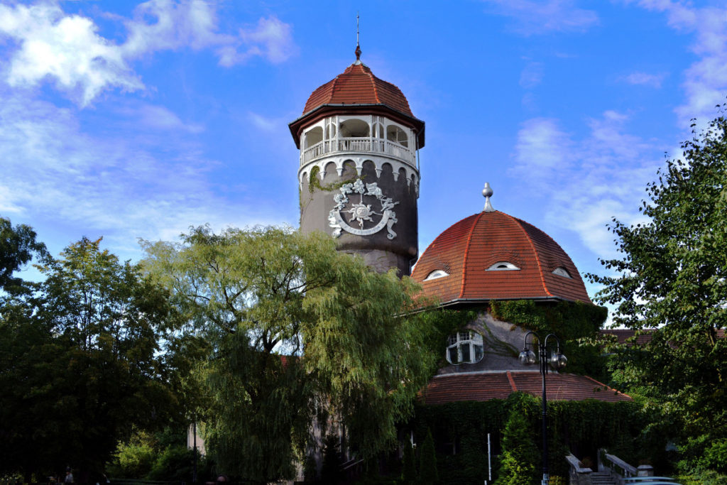 Башня водолечебницы в Светлогорске