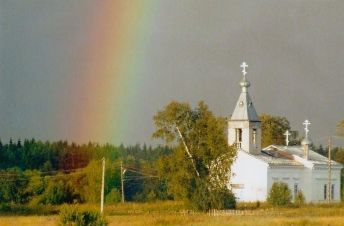 Церковь Спаса Нерукотворного образа в селе Еройла близ Олонца