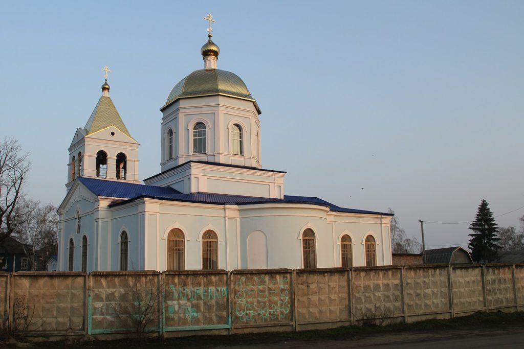 Церковь Казанской иконы Божией Матери, г. Павловск