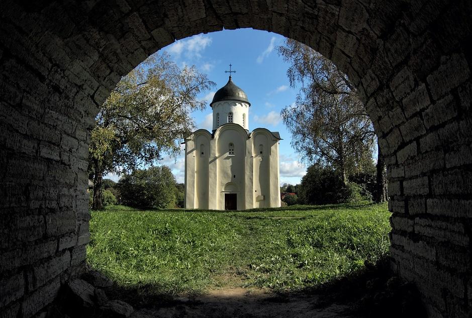 Георгиевский собор в Старой Ладоге