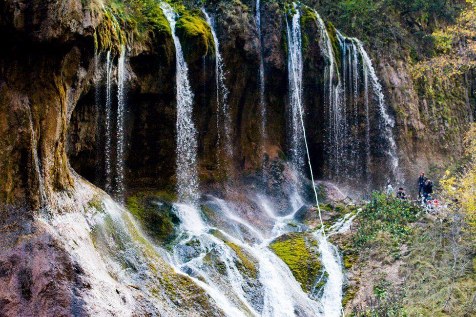 Чегемские водопады близ Нальчика