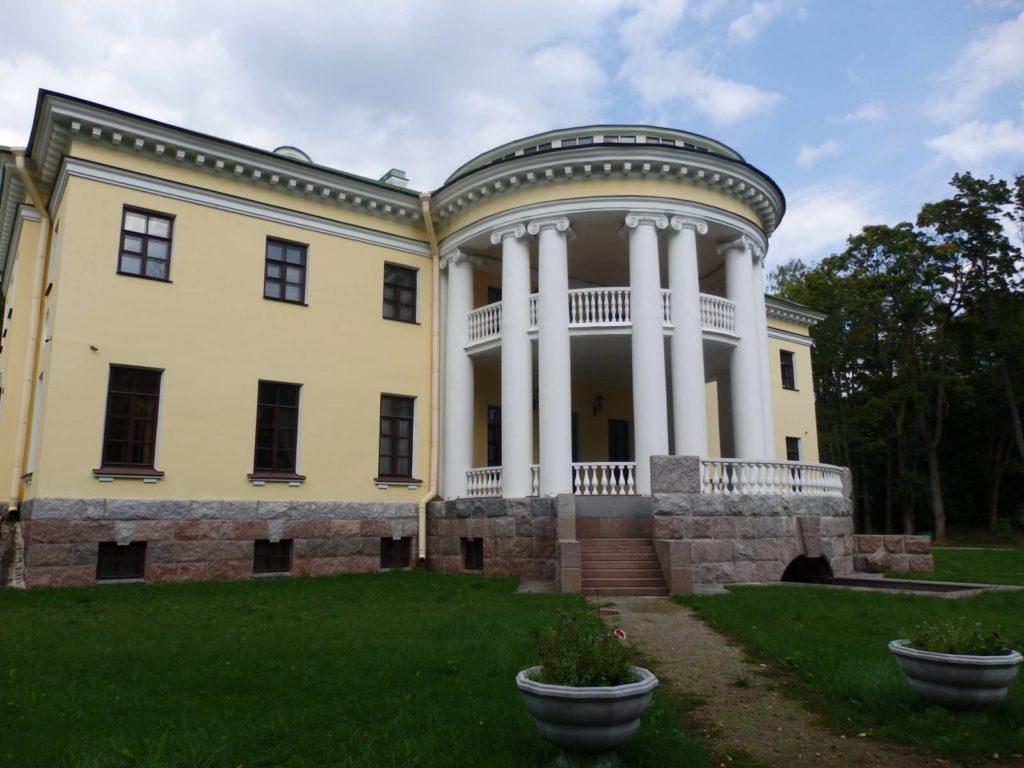 Усадьба князя Гагарина в Холомках близ Порхова