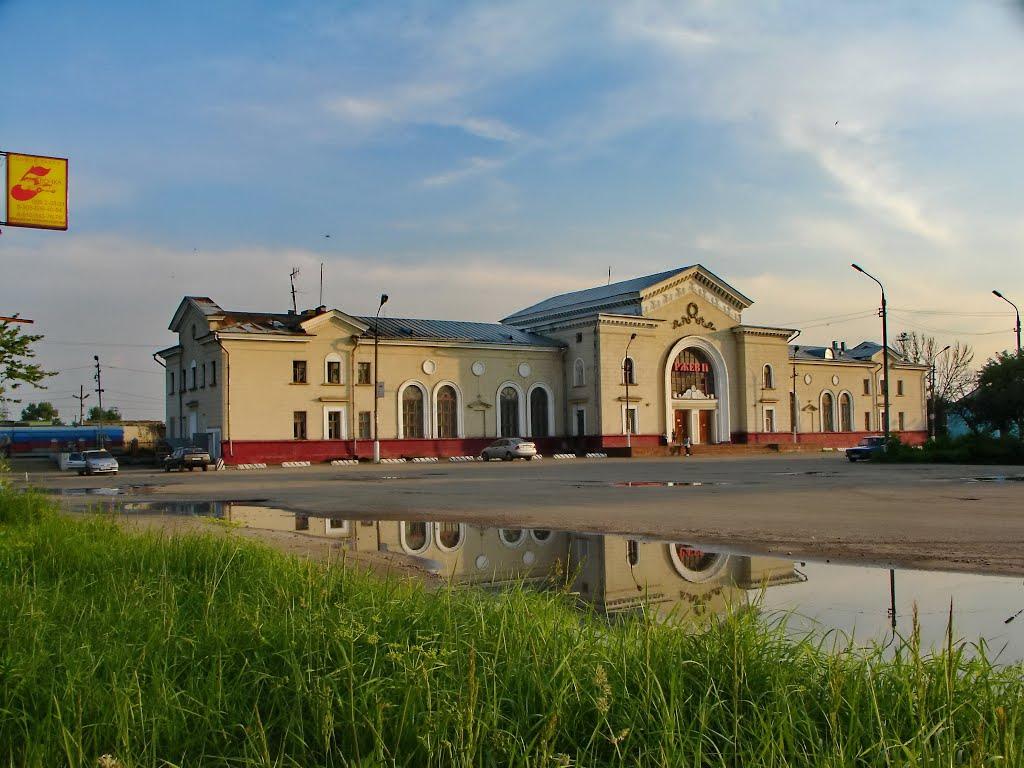 Железнодорожная станция Ржева