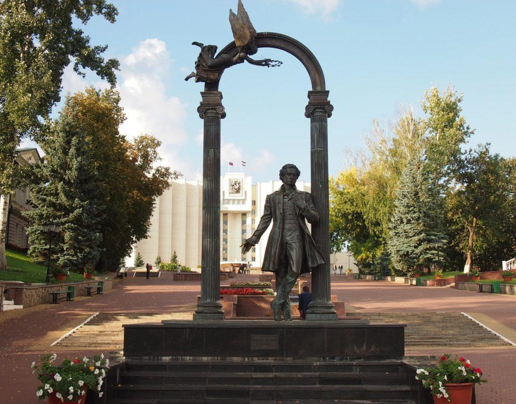 Парк им. А.С. Пушкина в городе Саранск