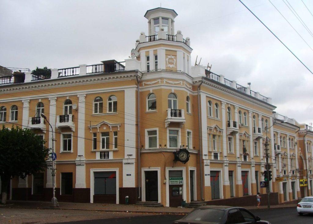 Бывшая гостиница «Европейская» в Смоленске