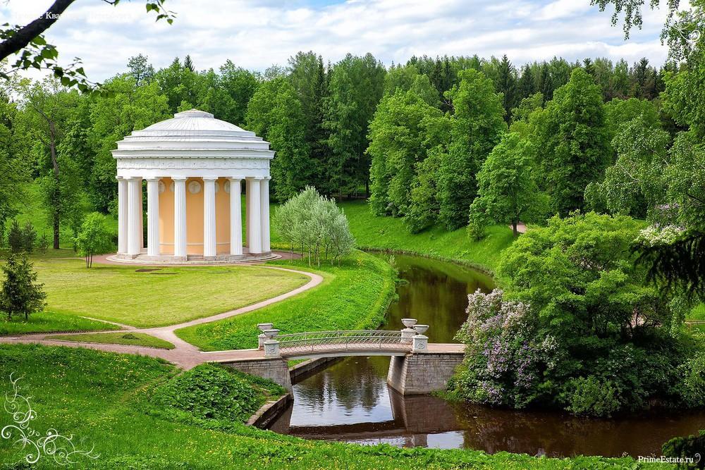 Павловский парк Ленинградской области