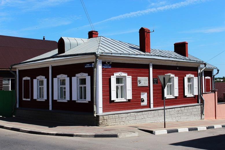 Дом композитора Н.Т.Хренникова, г. Елец
