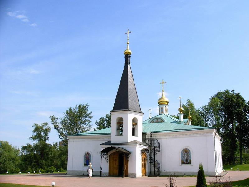 Воскресенская церковь в Подольске