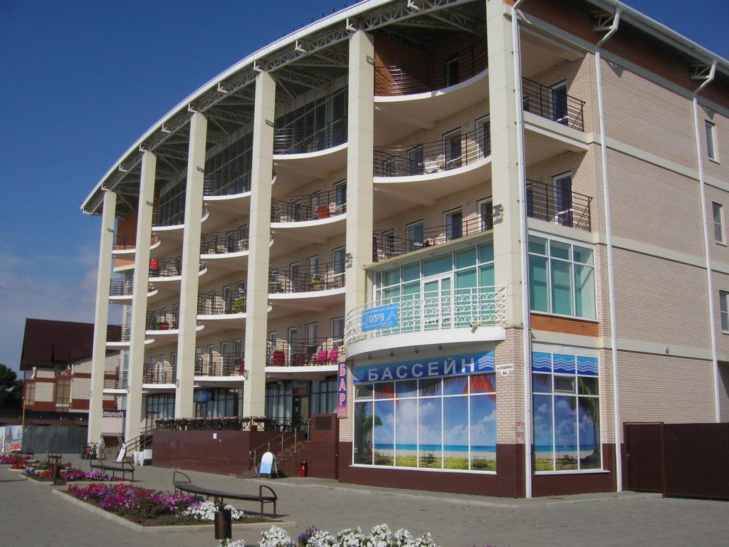 """Гостиница """"Марисоль"""" в Приморско-Ахтарске"""