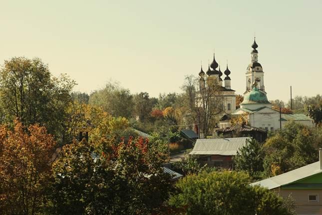 Ансамбль Троицкой и Введенской церквей в Плёсе