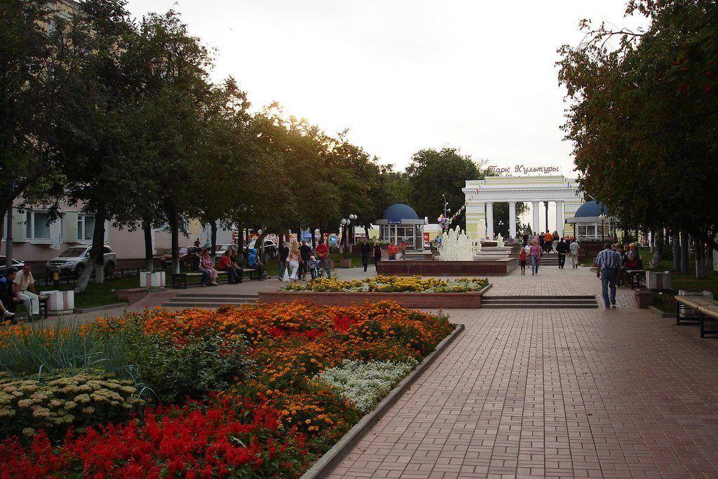 Центральный парк культуры и отдыха в Йошкар-Оле